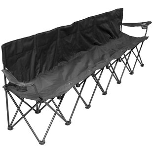 Dasia 6 Person Folding Camping Bench