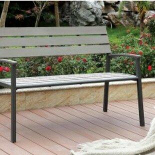 Abrego Aluminium Garden Bench