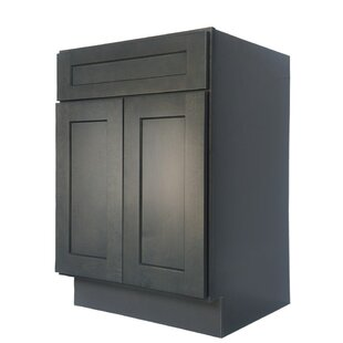 Shaker 27 Single Bathroom Vanity Base Only By G.D. Concepts