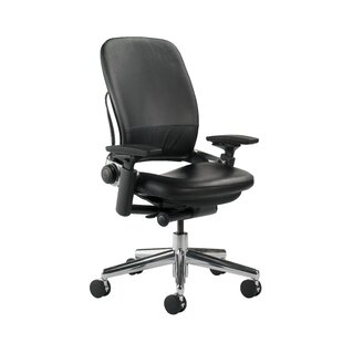 Steelcase Leap® High-Back Leather Desk Chair