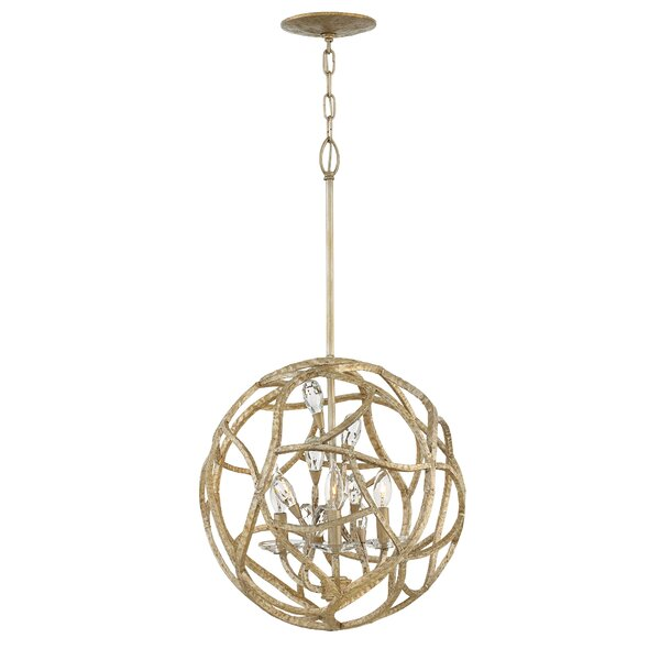 Rosdorf Park St James 3 Light Candle Style Globe Chandelier Wayfair