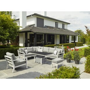 Surber 8 Seater Corner Sofa Set By Sol 72 Outdoor