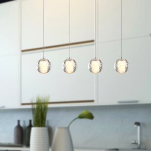 Veroniza 4 Light Led Kitchen Island Pendant
