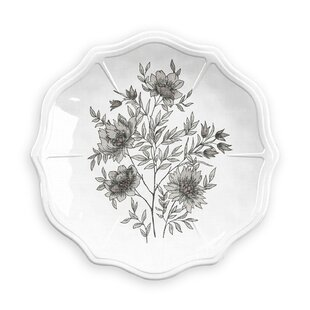 Farmhouse Botanical 19cm Melamine Side Plate By Tar Hong