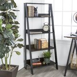 Black Tall Leaning Bookcases You Ll Love In 2020 Wayfair