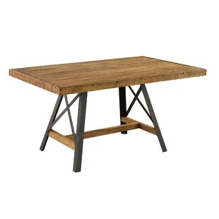 Top Reviews Laguna Reclaimed Solid Wood Dining Table ByTrent Austin Design