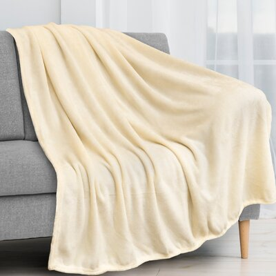 Divisadero Super Soft Lightweight Plush Fuzzy Cozy Fleece Blanket Everly Quinn Color Gray Size 50 X 60 Shefinds