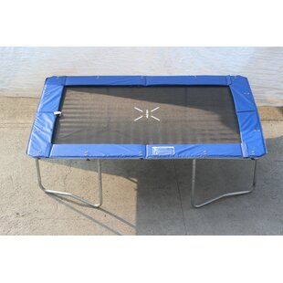Super Jumper 9' Rectangle Trampoline with Safety Enclosure