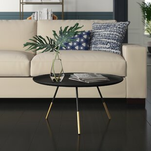 Searching for Kattan Coffee Table with Tray Top by Mercury Row