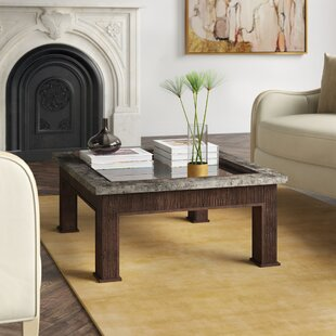 Marin Coffee Table with Tray Top