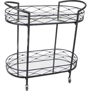 Sagebrook Home Bar Cart