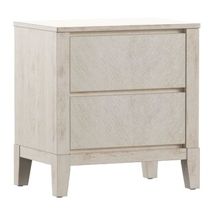 Nicolai 2 Drawer Nightstand