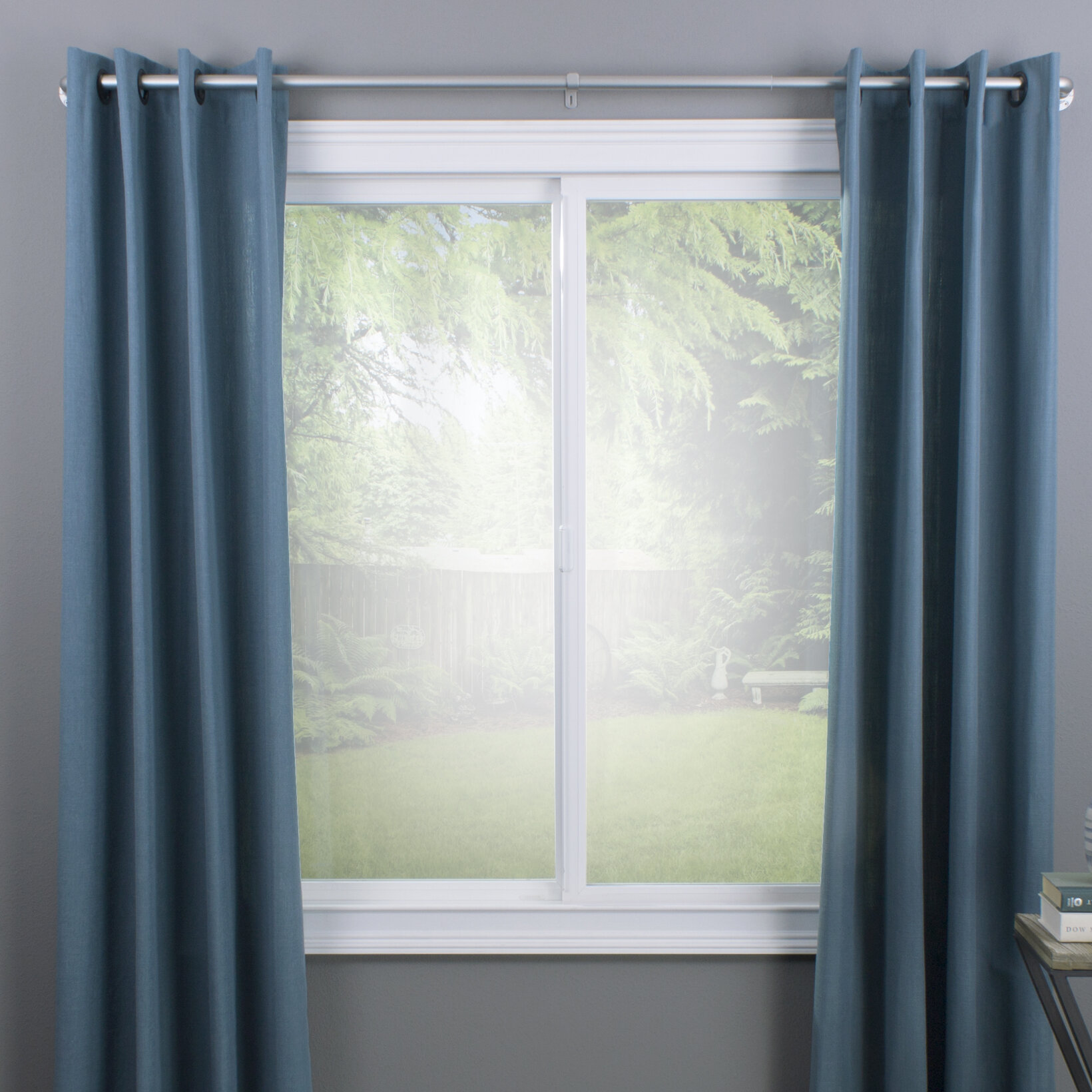 Lovina Wrap Curtain Single Rod