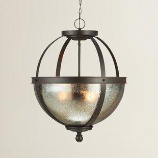 Gracie Oaks Doris 3-Light Chandelier