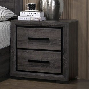 Chevelle 2 Drawer Nightstand by Brayden Studio