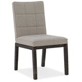 Aventura Upholstered Dining Chair in Smoky Arabica Dark (Set of 2) by Hooker Furniture