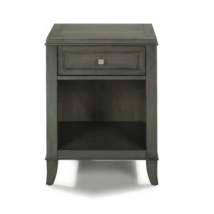 Romsey 1 Drawer Nightstand by Three Posts