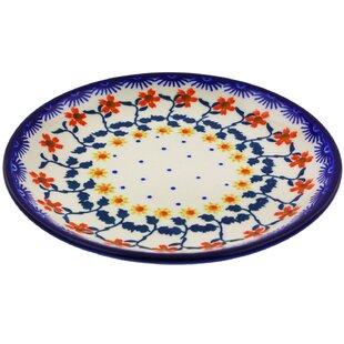 Polish Pottery 7  Dinner Plate  sc 1 st  Wayfair & 7 Inch Dinner Plate | Wayfair