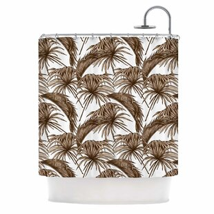 'Palmtastic' Nature Single Shower Curtain