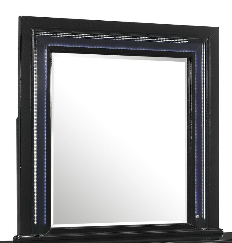 Global Furniture Farquhar Mirror 41'' H x 42.5'' W x 1.5'' D  Item# 8317