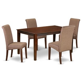 Madelynn Kitchen Table 5 Piece Solid Wood..