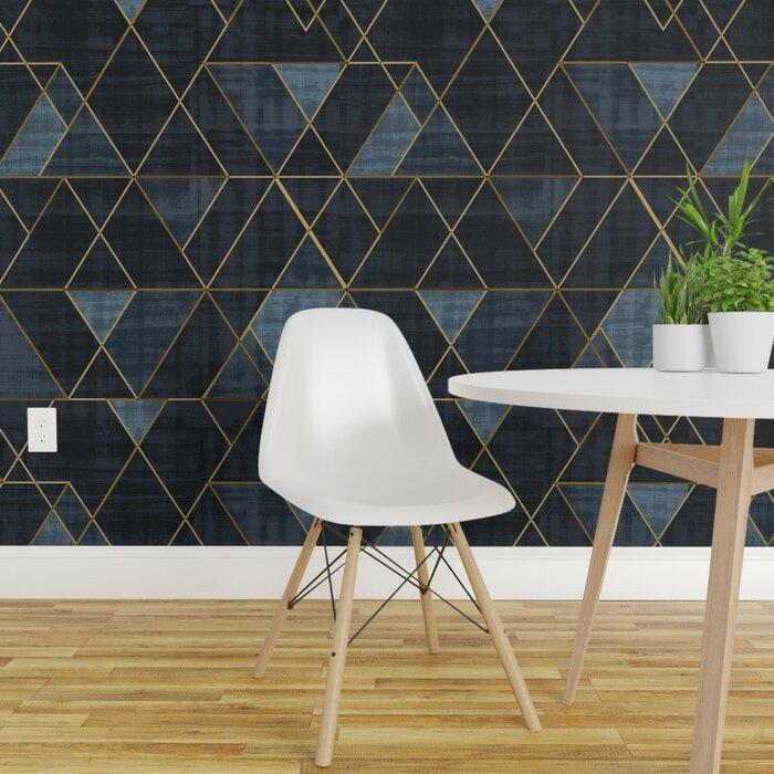 Vaughn Geometric Removable Wallpaper Panel