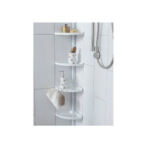 4 Tier Tension Pole Shower Caddy