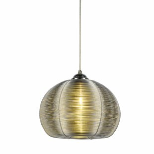 Brace 1-Light Inverted Pendant by Ivy Bronx