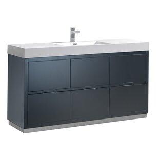 Price Check Senza Valencia 60 Single Bathroom Vanity Set ByFresca
