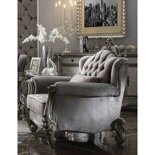 Bermuda Wood Frame Armchair by Astoria Grand