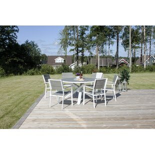 Akia Aluminium Dining Table By Sol 72 Outdoor