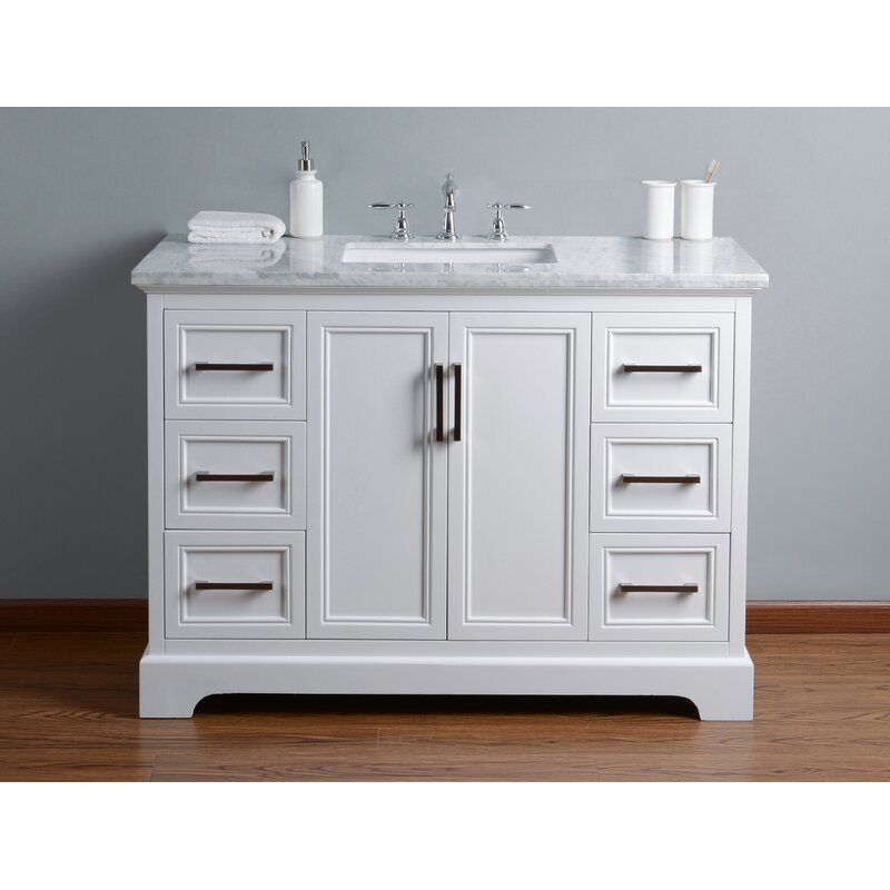 "Ravenworth 48"" Single Bathroom Vanity Set"
