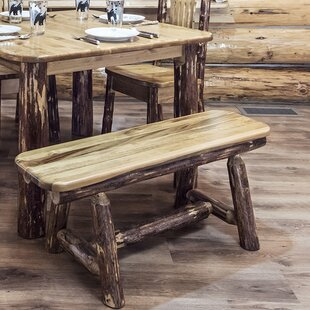 Tustin Plank Wood Bench
