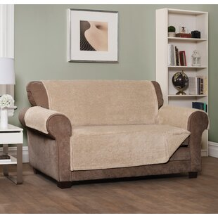 Box Cushion Sofa Slipcover by Loon Peak