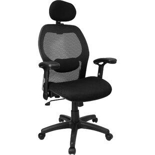Symple Stuff Yarger Super High-Back Mesh Desk Chair