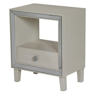 Top Reviews Lindy End Table With Storage by House of Hampton