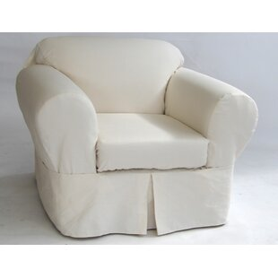 Merveilleux Box Cushion Armchair Slipcover