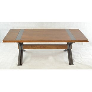 Candelario Solid Wood Coffee Table By Williston Forge