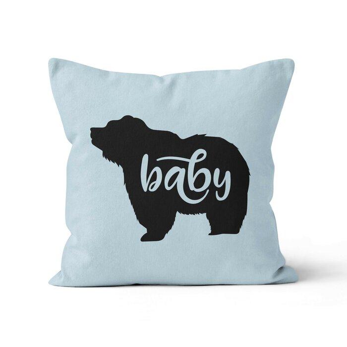 Baby Bear Nursery Throw Pillow