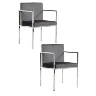 Cauley Arm Chair (Set of 2) by Orren Ellis