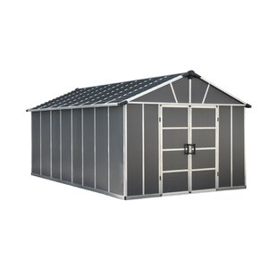 Yukon 11 Ft. W X 17 Ft. D Plastic Storage Shed By Palram
