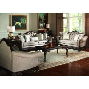 Astoria Grand Chorleywood 3 Piece Coffee Table Set
