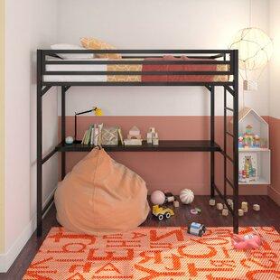 Simoneau Loft Bed with Desk