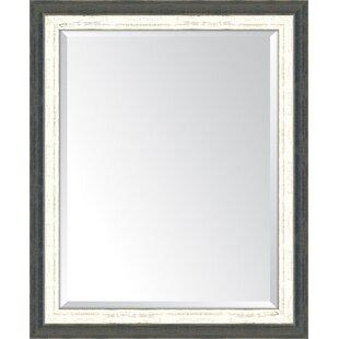 Melissa Van Hise Indigo and French White Wall Mirror