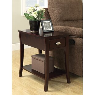 Best Review Sutton Place End Table with Storage by Red Barrel Studio