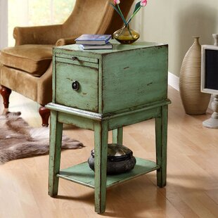 Philippine End Table With Storage by Lark Manor