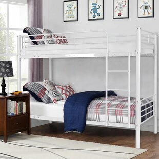 Compare prices Starks Twin over Twin Bunk Bed by Harriet Bee Reviews (2019) & Buyer's Guide