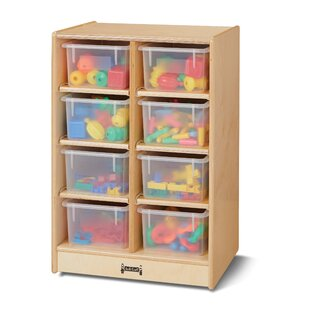 Look for 8 Compartment Cubby with Casters ByJonti-Craft