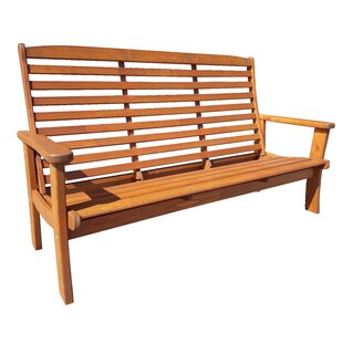 Gatlin Wooden Bench By Alpen Home
