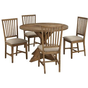 Skyview 5 Piece Dining Set Ophelia & Co.